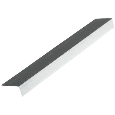 NorWesco A 1 In. X 1-1/2 In. Galvanized Steel Roof & Drip Edge Flashing