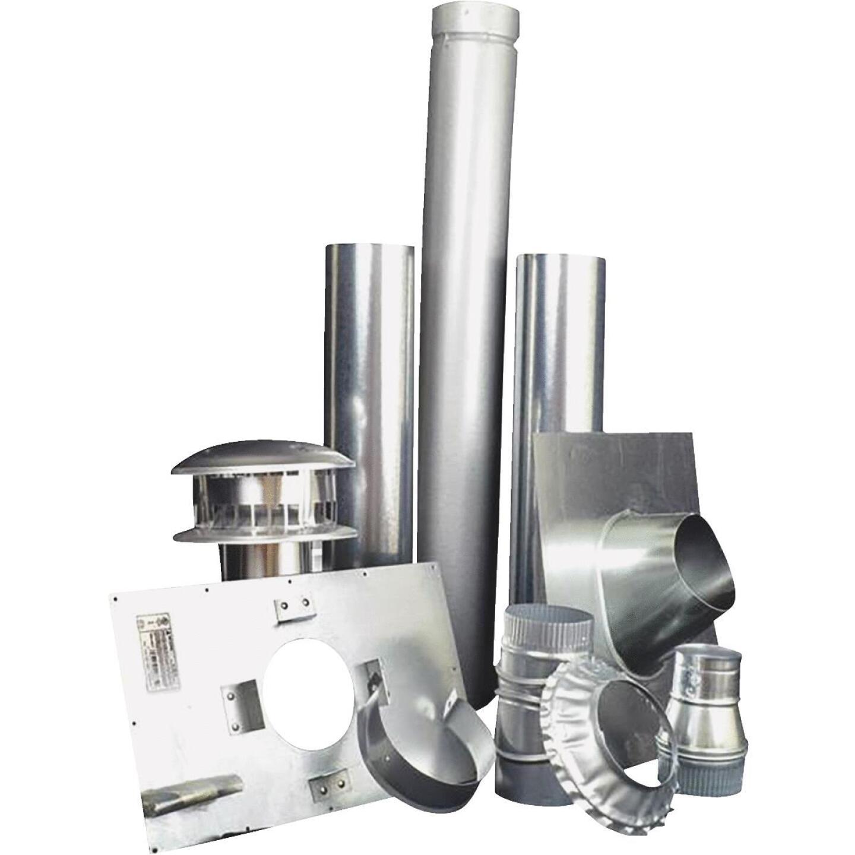 MR. HEATER Vertical Garage Heater Vent Kit (10-Piece) Image 1