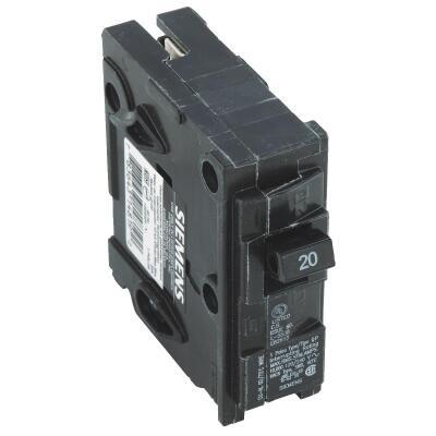 Connecticut Electric 20A Single-Pole Standard Trip Interchangeable Packaged Circuit Breaker