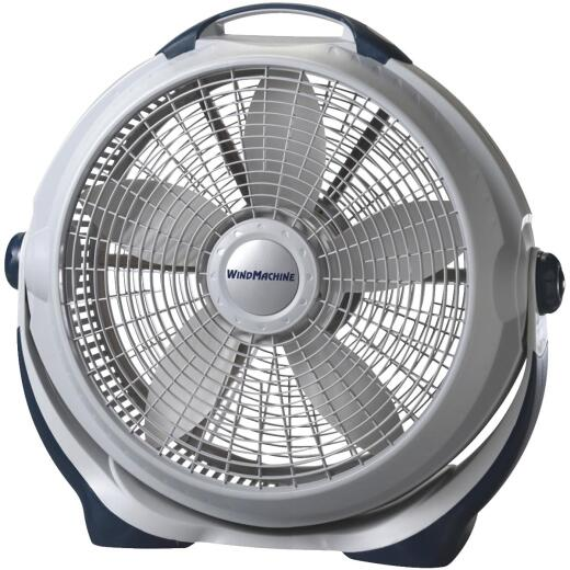 Lasko Wind Machine 20 In. 3-Speed Pearl Floor Fan